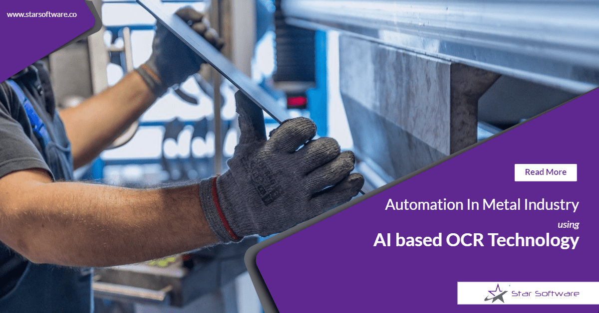 Metal Industry using OCR Automation